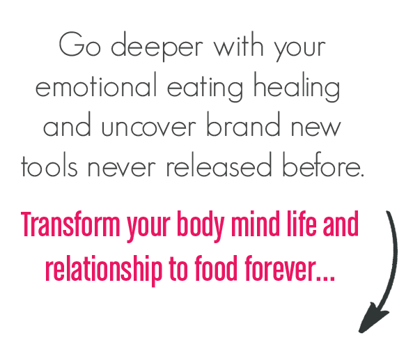Go deeper with your emotional eating...